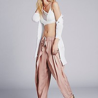 Free People Womens Slouchy Harem Pant