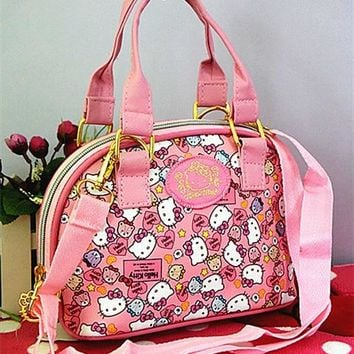 Xingkings Hello kitty Bags Handbag Shoulder Bag Purse Messenger Bag Totes Bag XK-3299P