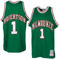 Milwaukee Bucks Oscar Robertson #1 jerseys