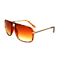Womens Mens Fashion Rubberized Matte Aviator Sunglasses A1890