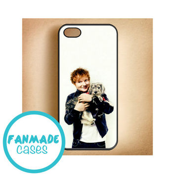 Ed Sheeran dog iPhone 4/4s 5/5s/5c & iPod 4/5 Rubber Case