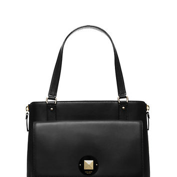 Kate Spade Varick Street Haircalf Austin Black/Leopard ONE