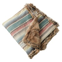 Junk Gypsy Wanderer Fur Throw