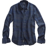Gable Shirt in Charcoal Plaid