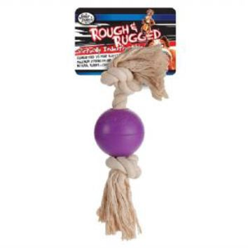 Four Paws Rough Rugged Rope Ball 2.75 inch