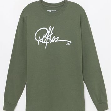 Young and Reckless Signature Long Sleeve T-Shirt at PacSun.com