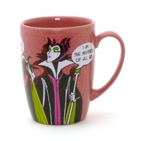 Disneyland Paris Villains Maleficent Mug | Disney Store