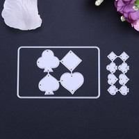 Cutting Metal Dies Playing Cards