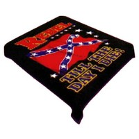 Rebel Till I Die Medium Weight 2.1kg (4.6lbs) Acrylic Mink Blanket