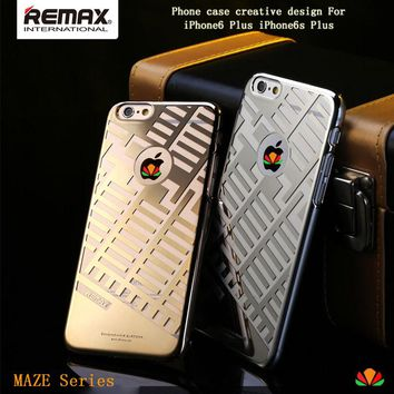MAZE series mobile phone case metal frame case phone sets phone cover electroplating technology for iPhone 6 Plus 6s Plus