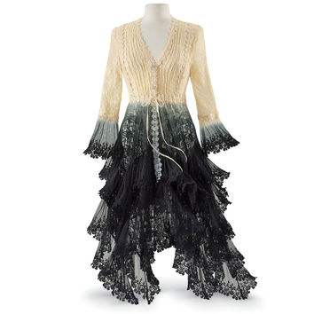 Long Lace Jacket - Women's Clothing & Symbolic Jewelry – Sexy, Fantasy, Romantic Fashions