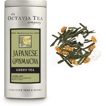 Japanese Geimaicha (Green Tea)