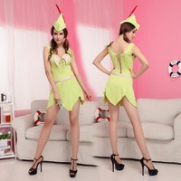 Costumes stage performance clothing Pretty Green Fairy princess dress cosplay [8979073863]