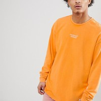 Fairplay Anderson Long Sleeve T-Shirt In Orange at asos.com