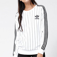 adidas Tennis 3-Stripes Crew Neck Sweatshirt at PacSun.com