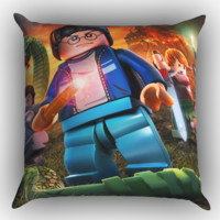 Lego Harry Potter Y1235 Zippered Pillows  Covers 16x16, 18x18, 20x20 Inches