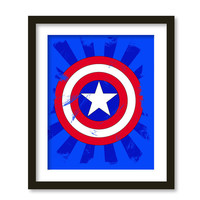 SALES -15% -Super hero art, wall art, boys room decor , green lantern, superheroes logos, painted texture