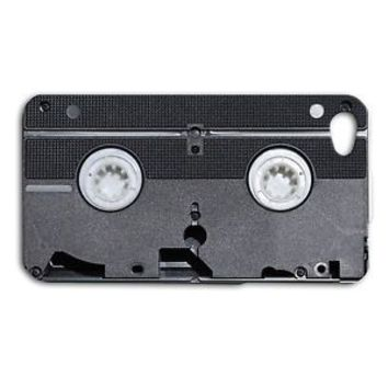 Funny VCR VHS Tape Phone Case Cute iPhone New Cool Cover Black Cassette Fun 80s
