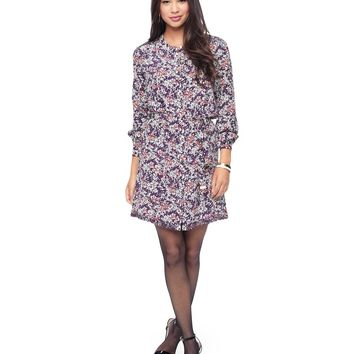 Snow Sonnet Silk Shirtdress by Juicy Couture