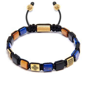 The Mini Flatbead Collection - Matte Onyx, Blue Lapis and Brown Tiger Eye