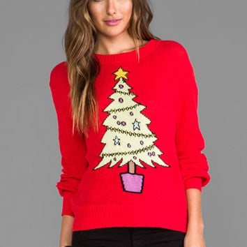 Wildfox Christmas Sweatshirt.Wildfox Couture Baby Christmas Tree From Revolve