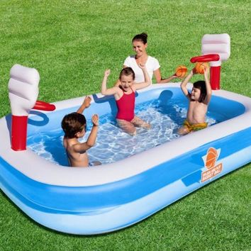 Bestway genuine 54122 basketball entertainment inflatable pool baby bath ball pool b32