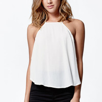 LA Hearts Goddess Neck Fly Away Side Tank Top at PacSun.com