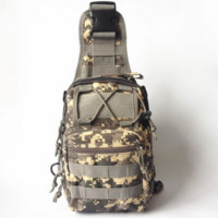 Canvas Riding Crossbody Hiking Climbing Outdoor Bag