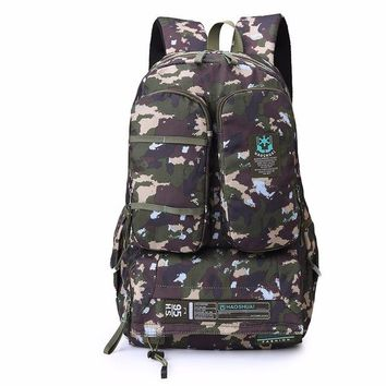 Boys bookbag trendy new fashion s for school boy travel bag back pack men bagpack waterproof backpack large Camouflage nylon laptop book bags AT_51_3