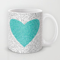 Aqua Love Mug by M Studio