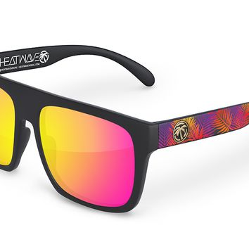 Regulator Sunglasses: Neon Palm Customs
