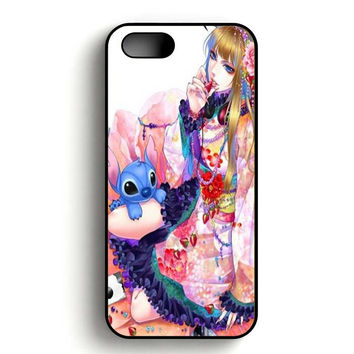 Disney Stitch iPhone 5, iPhone 5s and iPhone 5S Gold case