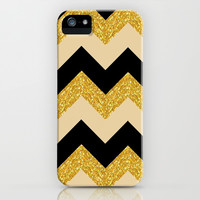 Gold Love  iPhone & iPod Case by Pink Berry Pattern