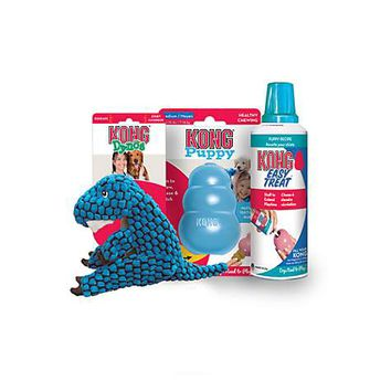 KONG Puppy, Dynos T-Rex & Puppy Easy Treat Bundle | Petco