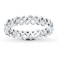 Stackable Heart Ring Sterling Silver
