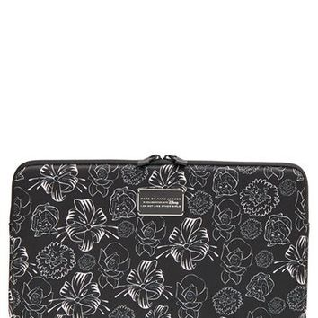MARC BY MARC JACOBS x Disney® 'Alice in Wonderland - Laughing Flowers' Computer Case (13 Inch) | Nordstrom