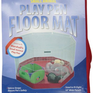 Marshall Small Animal Playpen Mat Cover 8 Panel