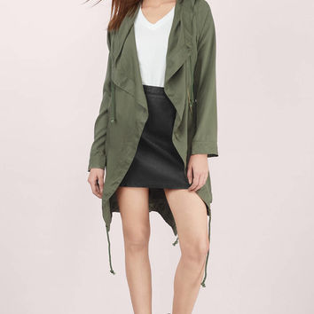 Love Bandit Draped Jacket