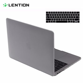 Ultra Protective Matte Hard Case For Apple Macbook Mac Book Retina Pro 13 15 Inch with/non Multi-Touch Bar A1706 A1707 A1708