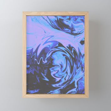 Drama Framed Mini Art Print by duckyb