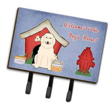 Dog House Collection Great Pyrenese Leash or Key Holder