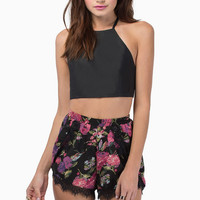 Bow Down Crop Top $26