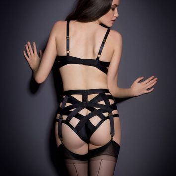 Whitney Suspender Black