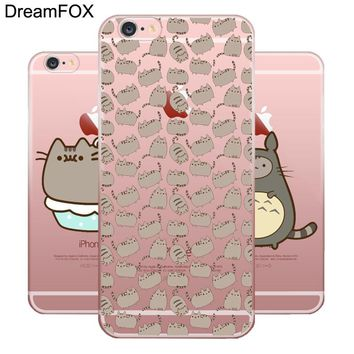 Iphone X Pusheen Cat Case