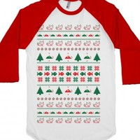 White/Red T-Shirt   Funny Christmas Gifts