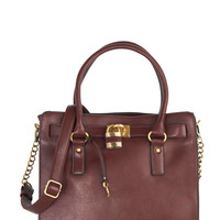 Full Course Load Bag in Oxblood - 14"