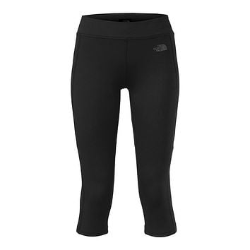 Women's Pulse Capri Tights in Black by The North Face