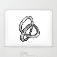 Shape 1 Laptop & iPad Skin by White Print Design