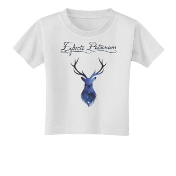 Expecto Patronum Space Stag Toddler T-Shirt