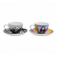 The Nightmare Before Christmas Jack & Sally Tea Set